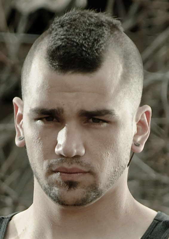 A Mohawk Haircut With A Short Buzzed Top.   Barbershops   Pinterest Pertaining To Short Mohawk Hairstyles (Gallery 19 of 25)