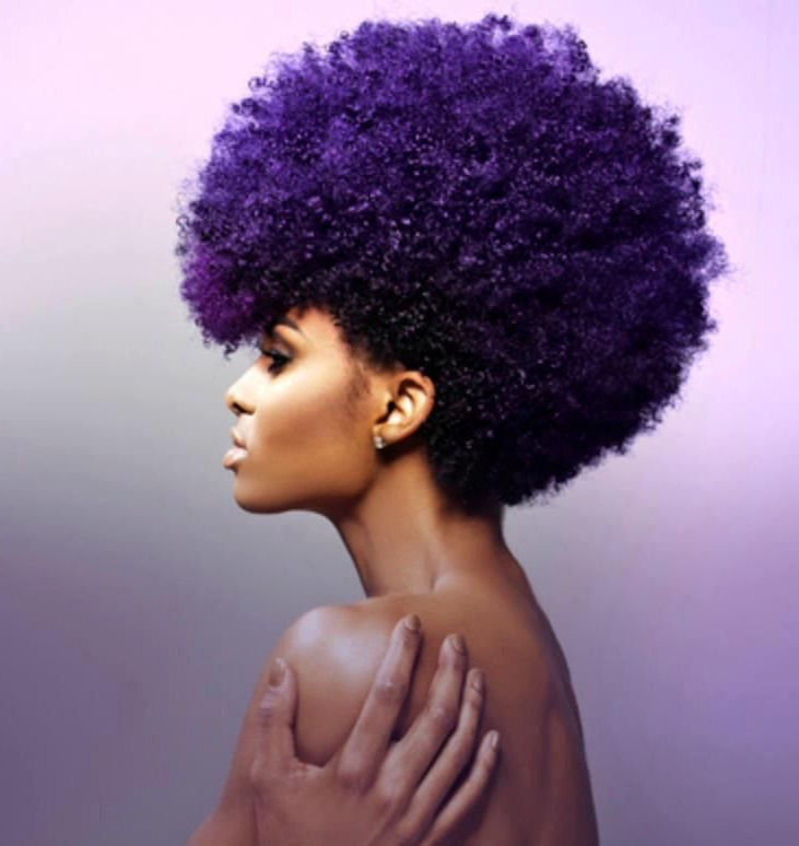 Alcohol Free Forever | Hair | Natural Hair Styles, Hair, Purple Throughout Purple Rain Lady Mohawk Hairstyles (View 14 of 25)