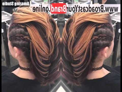 Amber Waves Of Faux Hawk – Youtube For Amber Waves Of Faux Hawk Hairstyles (View 20 of 25)