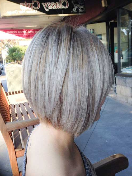 Ash Blonde Bob Pics | Bob Hairstyles 2018 – Short Hairstyles For Women Pertaining To Most Popular Ash Blonde Bob Hairstyles With Light Long Layers (View 18 of 25)