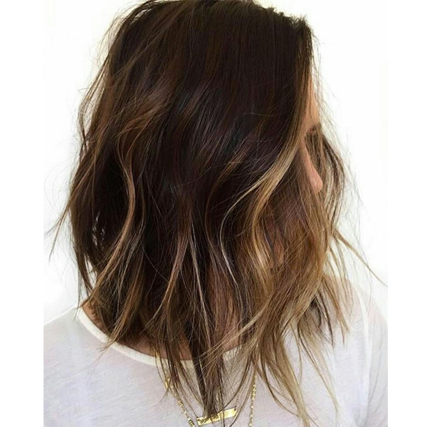 Balayage And Ombré: How Much Should You Charge? – Behindthechair Pertaining To Current Point Cut Bob Hairstyles With Caramel Balayage (View 20 of 25)