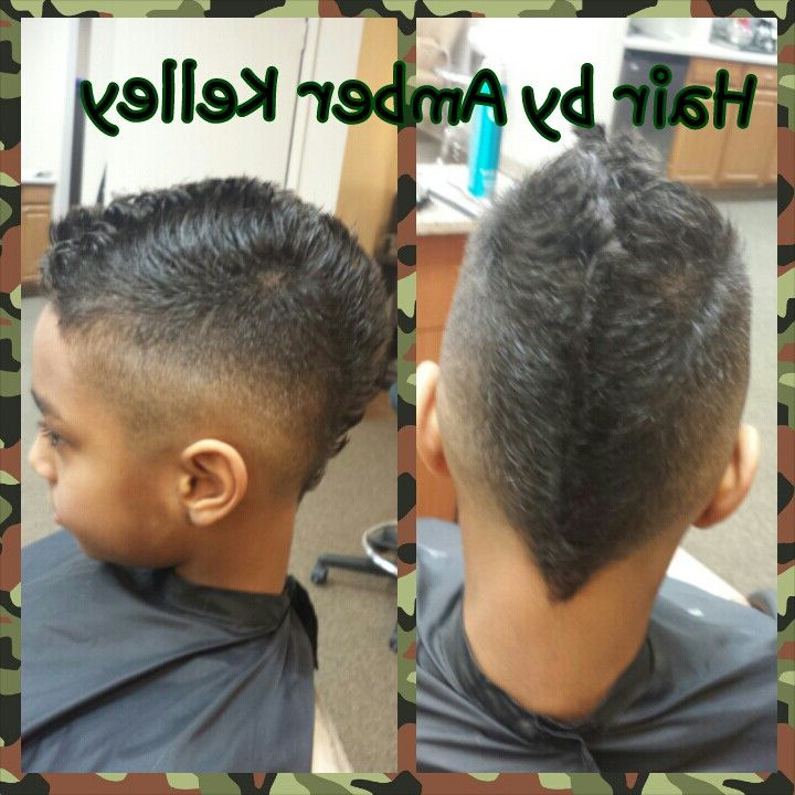 Bald Faded Faux Hawkamber Kelley | Hairamber Kelley Throughout Amber Waves Of Faux Hawk Hairstyles (View 3 of 25)