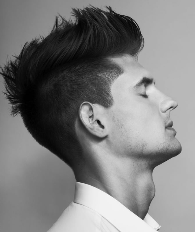 Barber Approved Faux Hawk Hairstyles For Men | Fashionbeans With Regard To The Faux Hawk Mohawk Hairstyles (View 17 of 25)