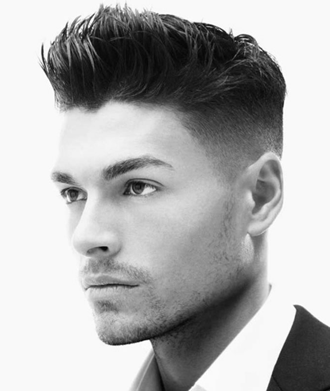 Barber Permitted Fake Hawk Hairstyles For Males ? American Barber Pertaining To Thrilling Fauxhawk Hairstyles (View 24 of 25)