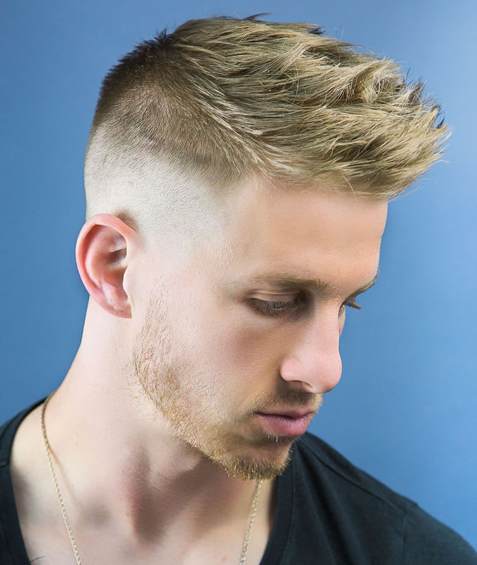 Barber Permitted Fake Hawk Hairstyles For Males ? American Barber With Regard To Thrilling Fauxhawk Hairstyles (View 13 of 25)