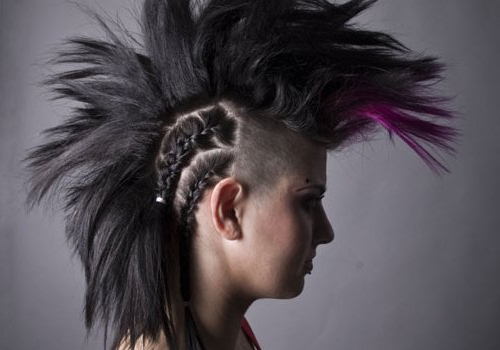 Beautiful Mohawk Hairstyles | Medium Hair Styles Ideas – 11142 Throughout Pink And Purple Mohawk Hairstyles (View 22 of 25)