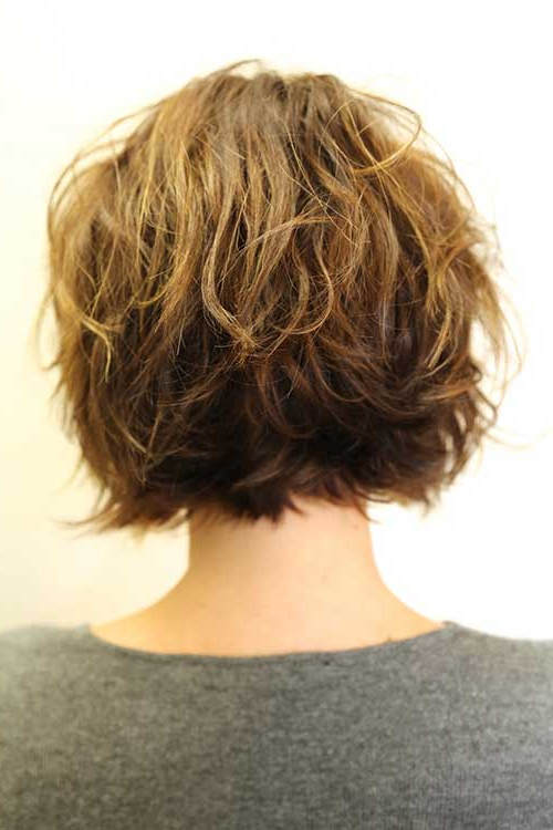 Best Layered Bob Hairstyles 2014 – 2015 | Bob Hairstyles 2018 In Recent Layered Wavy Lob Hairstyles (View 19 of 25)