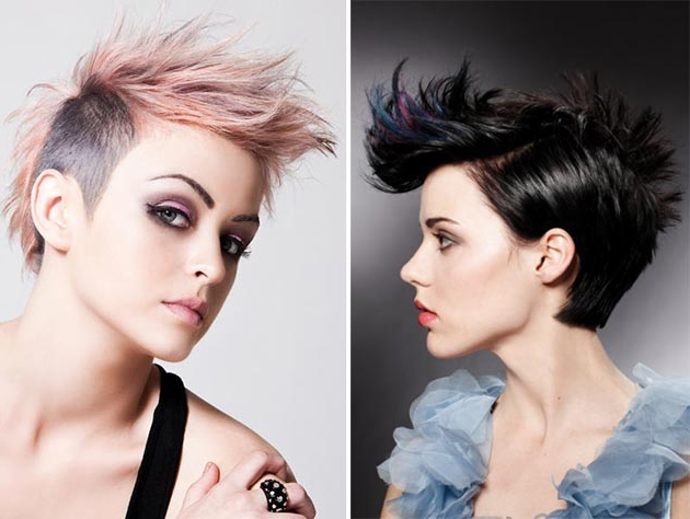 Best Mohawk And Fauxhawk Hairstyles For Women | Fashionisers Intended For Messy Hawk Hairstyles For Women (View 6 of 25)