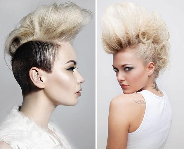 Best Mohawk And Fauxhawk Hairstyles For Women | Fashionisers With Whipped Cream Mohawk Hairstyles (Gallery 1 of 25)