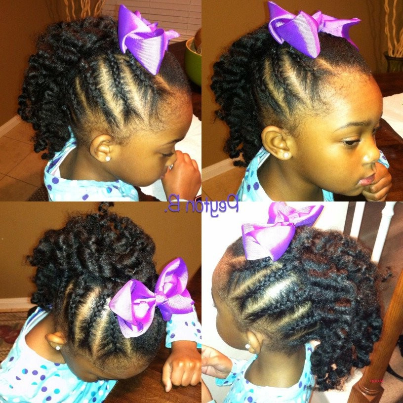 Black Girl Braided Mohawk Hairstyles Luxury Box Braids With Shaved In Lavender Braided Mohawk Hairstyles (View 24 of 25)