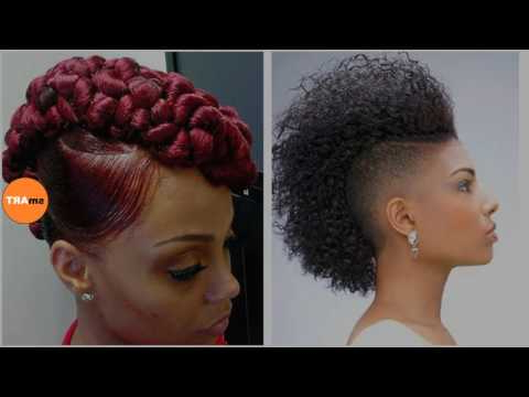 Black Girl Mohawk Hairstyles – Most Gorgeous Mohawk Hairstyles Of Intended For Cute And Curly Mohawk Hairstyles (View 19 of 25)