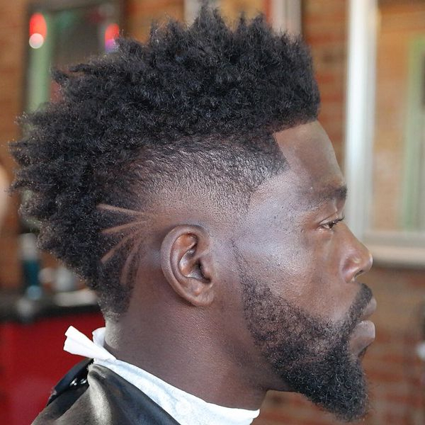 Black Mohawk Hairstyles, African American Mohawk Hairstyles For Men For Black Mohawk Hairstyles (View 8 of 25)