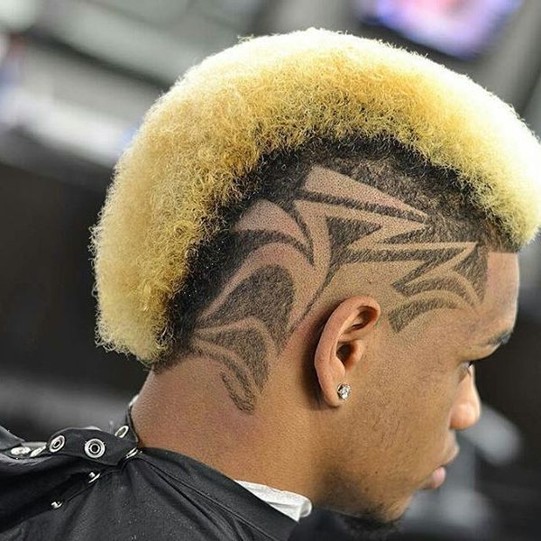 Black Mohawk Hairstyles, African American Mohawk Hairstyles For Men In Blonde Mohawk Hairstyles (View 16 of 25)