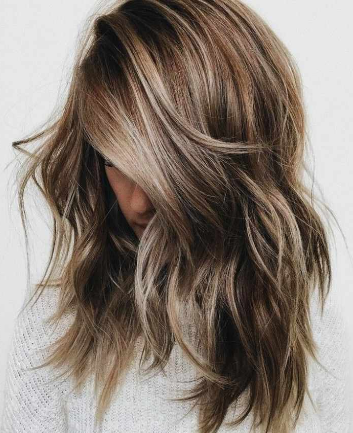 Blonde Hair Color For Brunettes Best Of Light Brown Balayage Within Most Recent Brown And Blonde Feathers Hairstyles (View 10 of 25)