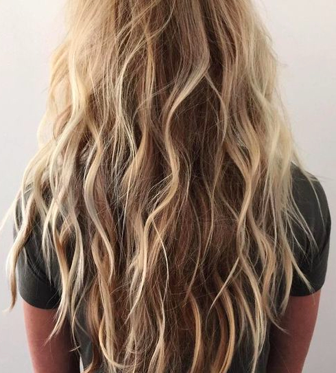 Featured Photo of Salty Beach Blonde Layers Hairstyles