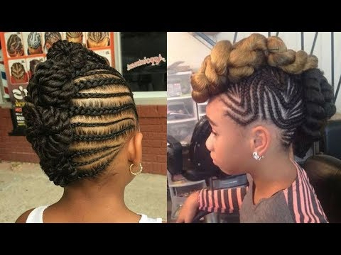 Braiding Hair Style Ideas For Girls 2018 – Black Girl Mohawk Within Small Braids Mohawk Hairstyles (View 20 of 25)