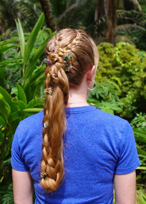 Braids & Hairstyles For Super Long Hair: Braided Ponytail In Braided Tower Mohawk Hairstyles (View 15 of 25)