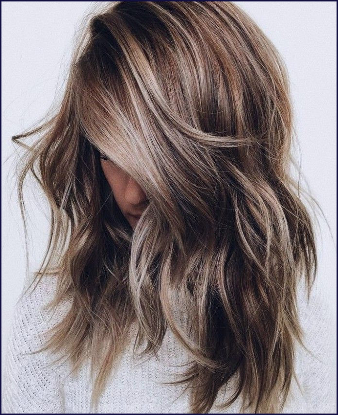 Brunette Hairstyles Luxury Light Brown Balayage Brunette Hairstyles Regarding Most Current Feathered Brunette Lob Haircuts (View 9 of 25)