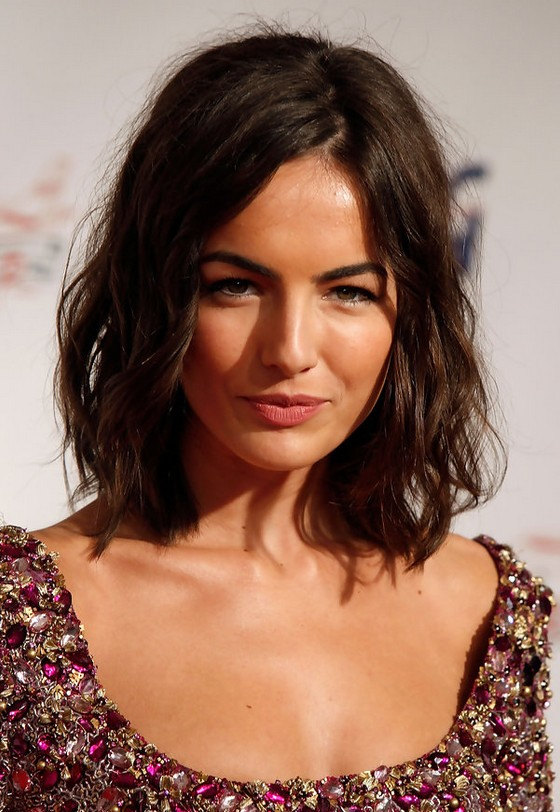Camilla Belle Chic Layered Messy Medium Wavy Bob Haircut For Summer With Most Recent Medium Layered Wavy Haircuts (View 25 of 25)