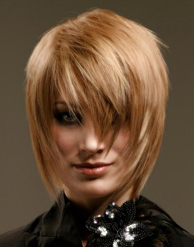 Cascade Hairstyles For Medium Hair Is The Most Common – The Golden Regarding Most Recently Medium Length Cascade Hairstyles (View 13 of 25)