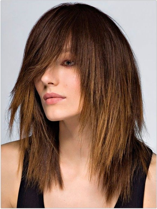 Featured Photo of Medium Length Cascade Hairstyles