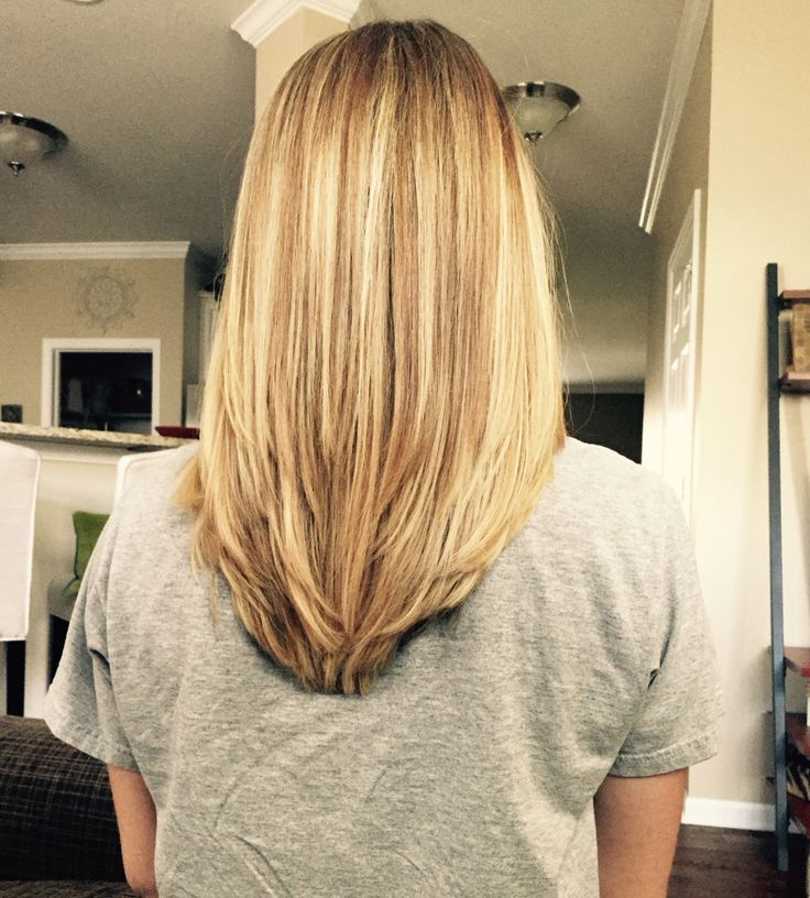 Casual V Haircut Medium Length With Most Popular V Cut Layers Hairstyles For Thick Hair (View 22 of 25)