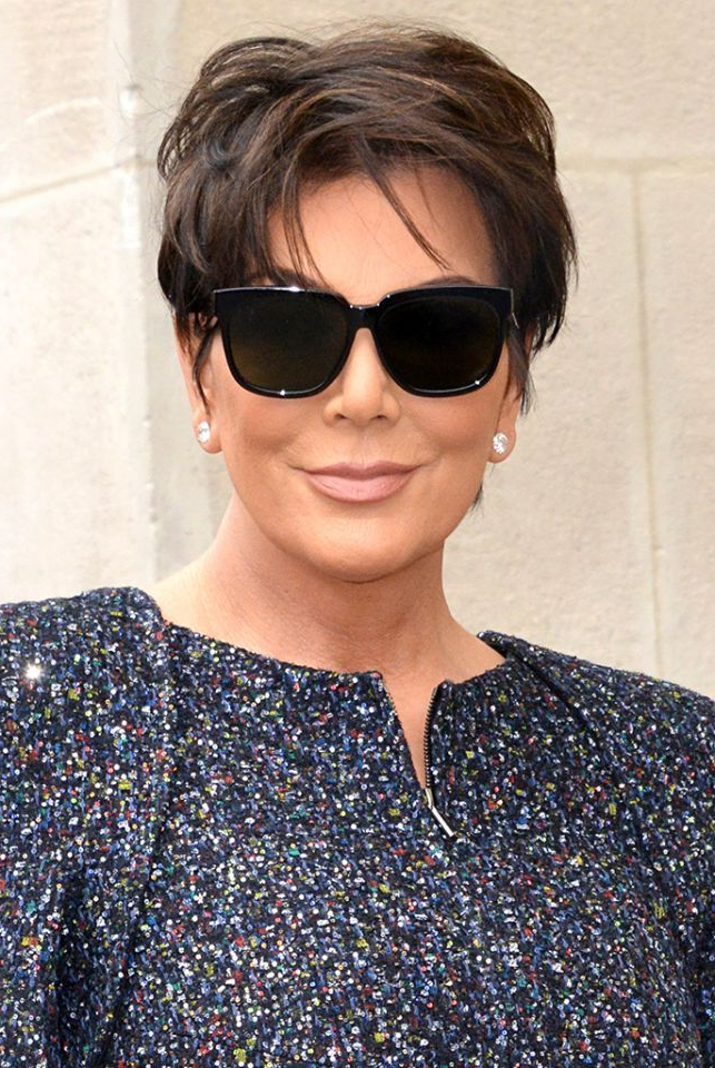 Celebrating Kris Jenner's 60 Best Hair Moments On Her 60Th Birthday With Sweet Tart Peaked Faux Hawk Hairstyles (View 18 of 25)