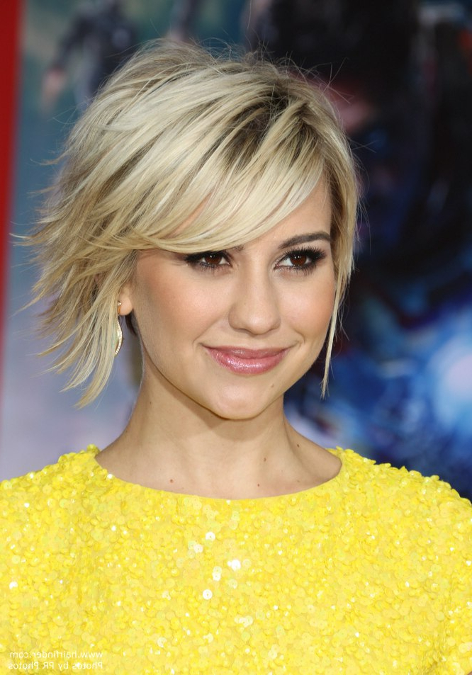 Chelsea Kane | Short Bob With Flipped Out Ends And Feathered Back Layers With Regard To Most Recent Layered, Flipped, And Tousled Hairstyles (View 19 of 25)