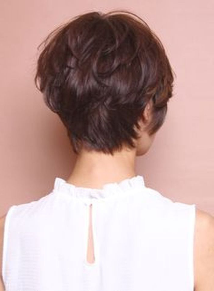 Cool Back View Undercut Pixie Haircut Hairstyle Ideas 1 | Hair With Sweet Tart Peaked Faux Hawk Hairstyles (View 25 of 25)