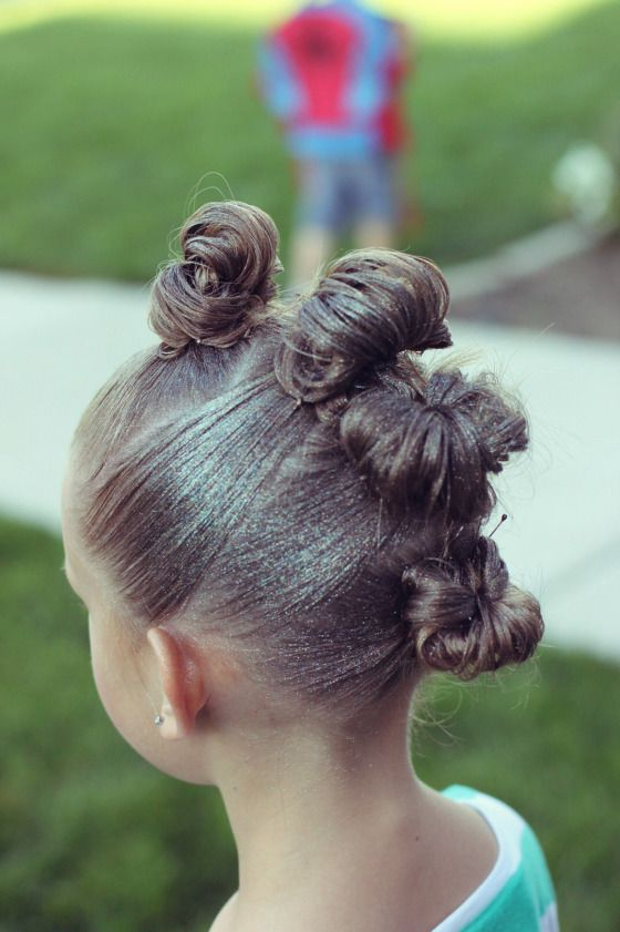 Crazy Hair ~ Bun Mohawk | Hair ~ Brown Haired Bliss {Me} | Crazy For Wedding Day Bliss Faux Hawk Hairstyles (View 15 of 25)