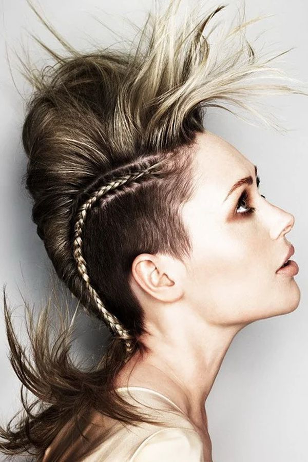 Creativity Best Described Through Hairstyles | Hairstyles & Braids Pertaining To Bed Head Honey Mohawk Hairstyles (View 5 of 25)