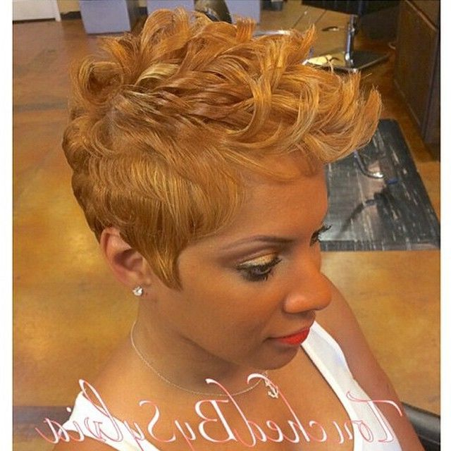 Cute Cut ! | Black Hairstyles | Pinterest | Short Hair Styles, Hair Inside Mohawk Hairstyles With Vibrant Hues (View 22 of 25)