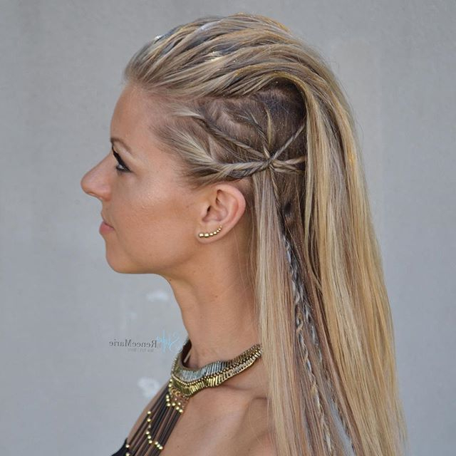 Diy Faux Hawk And Mohawk Hairstyles | Boho Hairstyles, Faux Hawk And Within Long Lock Mohawk Hairstyles (View 13 of 25)