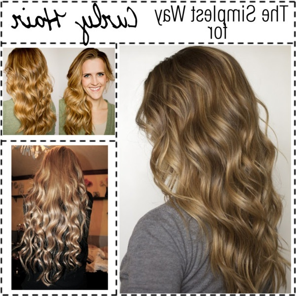 Diy No Heat Curls  15 Tutorials For Curl Hair Without Heat | Styles For Most Recent Heat Free Layered Hairstyles (Gallery 1 of 25)