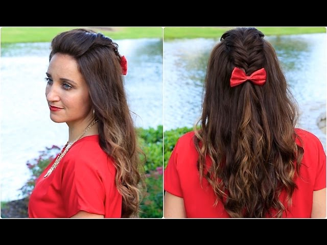 Diy Woven Faux Hawk | Cute Girls Hairstyles – Makeup Videos Pertaining To Messy Fishtail Faux Hawk Hairstyles (Gallery 25 of 25)