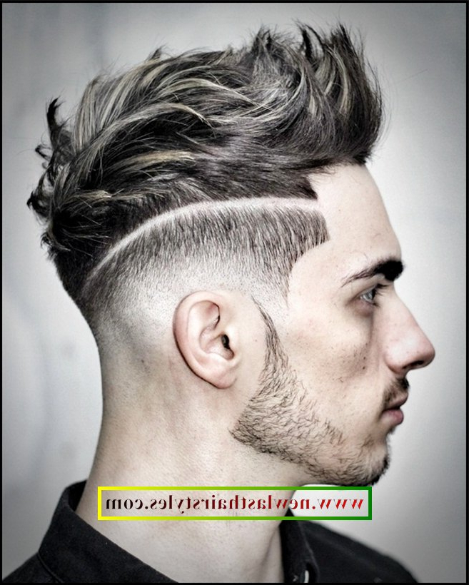 Enchanting 2018 Undercut Hairstyle Men Ideas In Hair With Awesome Intended For Stunning Silver Mohawk Hairstyles (View 23 of 25)