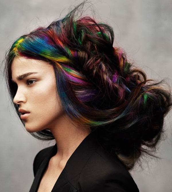 Extravagant Hairstyles And Hair Colors For Women | Fashionisers Within Extravagant Purple Mohawk Hairstyles (View 16 of 25)