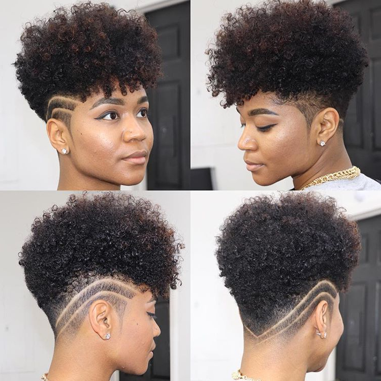 ???~ Your Tapered Natural Hair Is Truly A Beautiful Statement Intended For Curl–Accentuating Mohawk Hairstyles (View 21 of 25)