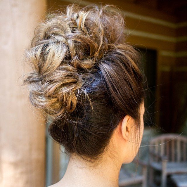 Fake Mohawk … | Hair Styles In 2018… Inside Wedding Day Bliss Faux Hawk Hairstyles (View 6 of 25)