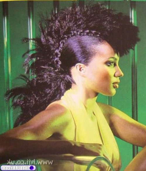 Farewell Letter From | Mohawks, Hair Makeup And Hair Style In Mohawk Hairstyles With Vibrant Hues (View 19 of 25)