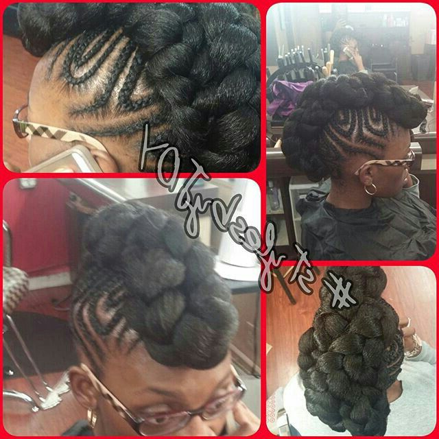 Featured Photo of Lobster Tail Faux Hawk Hairstyles