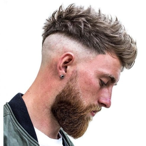 Faux Hawk Hairstyle - Keep It Even More Exciting inside Barely-There Mohawk Hairstyles