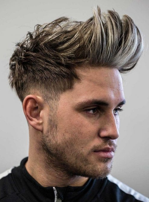 Faux Hawk Hairstyle – Keep It Even More Exciting Pertaining To Fauxhawk Hairstyles With Front Top Locks (View 22 of 25)