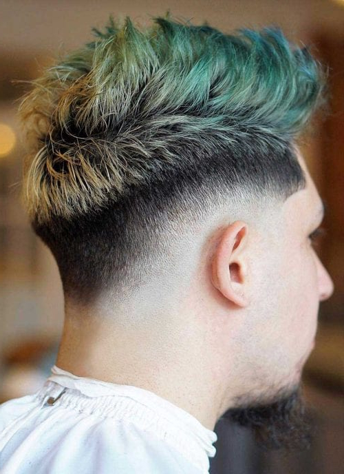 Faux Hawk Hairstyle - Keep It Even More Exciting pertaining to Thrilling Fauxhawk Hairstyles