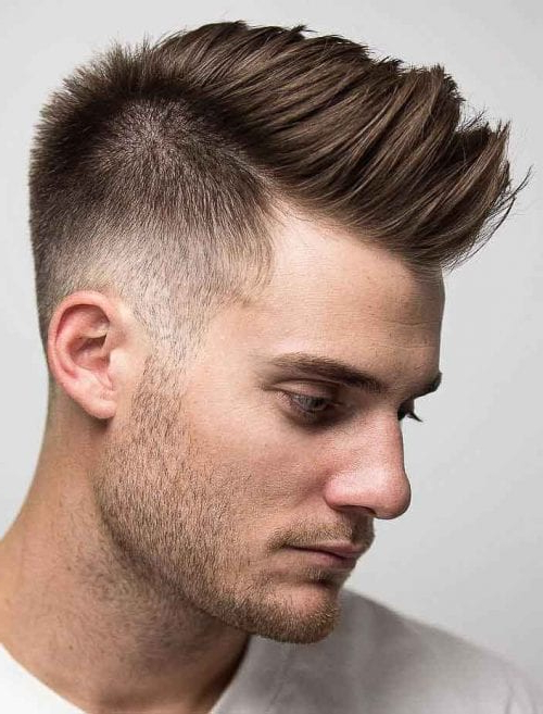 Faux Hawk Hairstyle - Keep It Even More Exciting throughout Thrilling Fauxhawk Hairstyles
