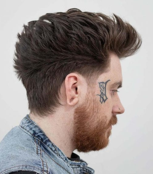 Faux Hawk Hairstyle – Keep It Even More Exciting With Regard To The Faux Hawk Mohawk Hairstyles (View 19 of 25)