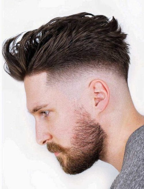 Faux Hawk Hairstyle – Keep It Even More Exciting With Thrilling Fauxhawk Hairstyles (View 14 of 25)