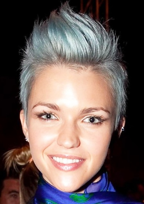 Faux Hawk Hairstyles For Women | intended for Messy Hawk Hairstyles For Women