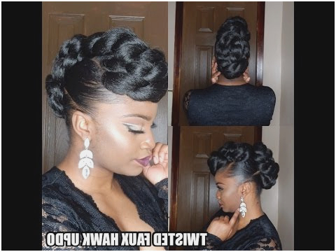 Faux Hawk Women Braid | Diy Tutorials Intended For French Braid Pinup Faux Hawk Hairstyles (View 19 of 25)