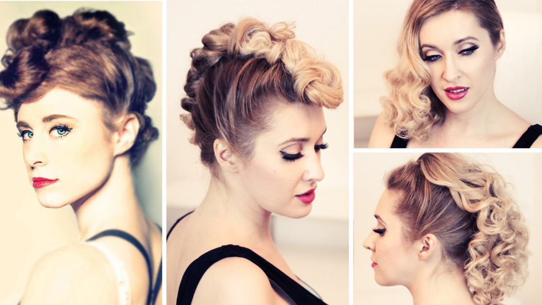 Female Mohawk Hairstyles Long Hair | Latest Hairstyles And Haircuts with regard to Retro Curls Mohawk Hairstyles